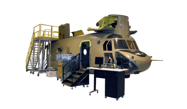 Kratos Defense & Security Solutions, Inc. CH-47F Chinook Avionics Trainer (CAT)