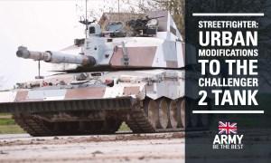 Challenger 2 Street Fighter Main Battle Tank