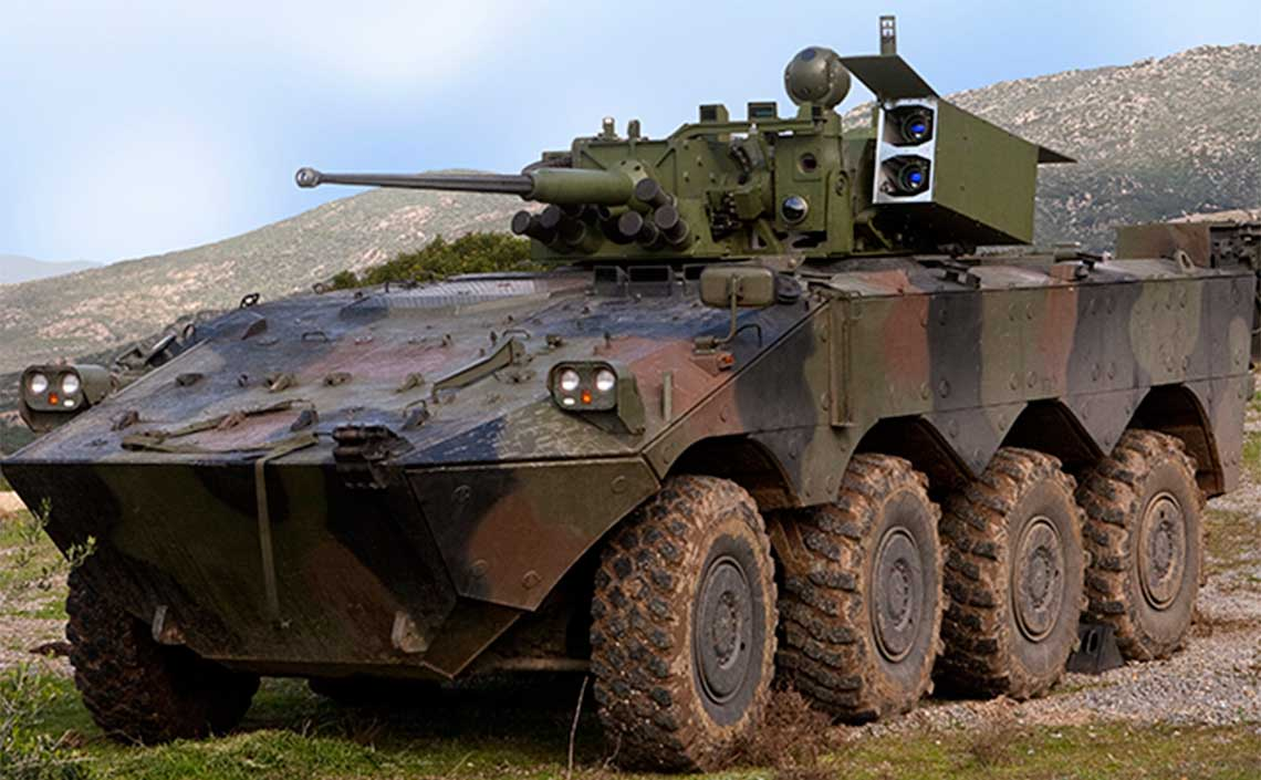 Italian Army Orders 30 Freccia VBM 8x8 Armoured Infantry Fighting Vehicle