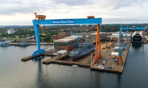 German Naval Yards Kiel (GNY Kiel) specialises in the design and construction of large naval vessels, such as frigates, corvettes and offshore patrol vessels
