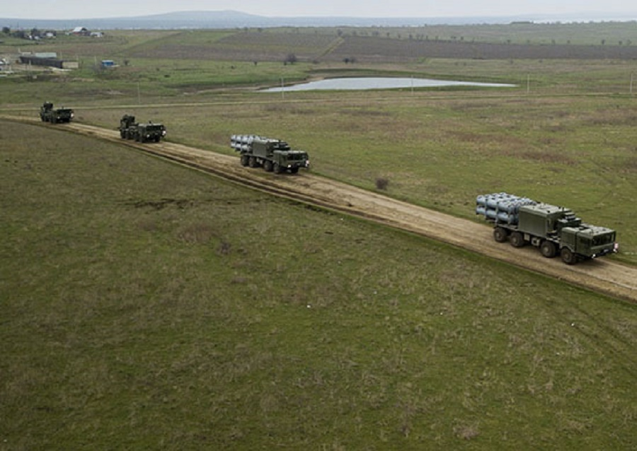 K-300P Bastion-P and Bal Coastal Missile System Training Holds in Black Sea