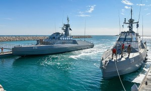 Royal Saudi Navy Receives First CMN HSI 32 High-Speed Interceptors
