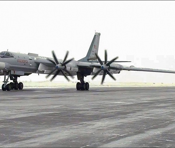 Tu-95MS Performed Low Temperature Long Flights