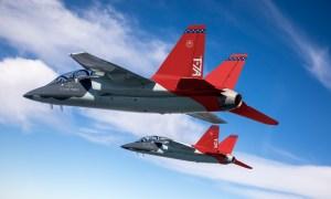 U.S. Air Force Boeing/SAAB T-7 Red Hawk