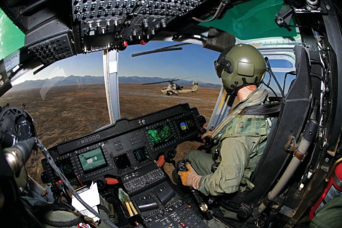 Bell AH-1Z Viper and H-1Y Venom Helicopter