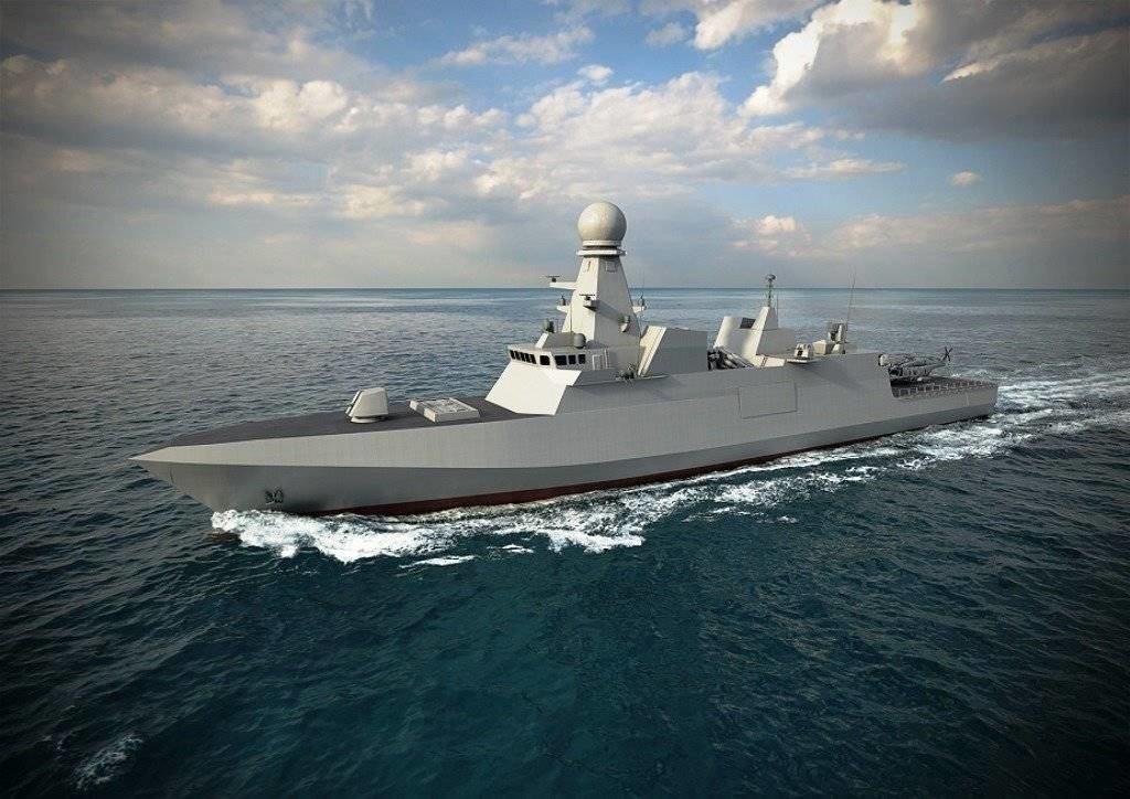 Fincantieri Launches Qatari Emiri Navy Corvette Al Zubarah
