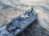The future USS St. Louis Littoral Combat Ship (LCS) 19 completed Acceptance Trials in Lake Michigan