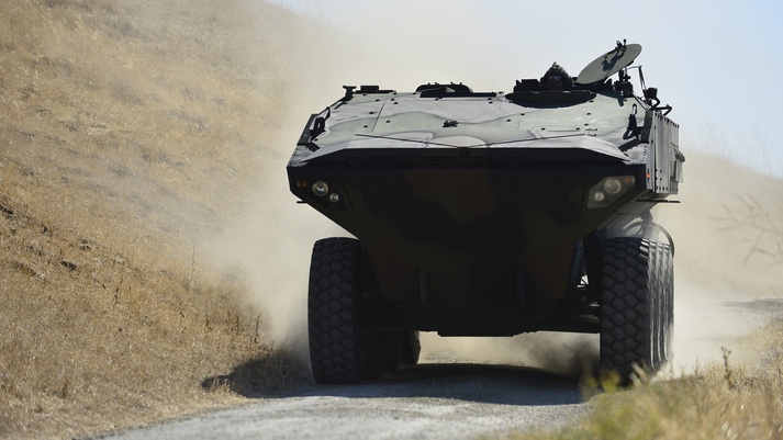 BAE Systems Amphibious Combat Vehicles (ACV)