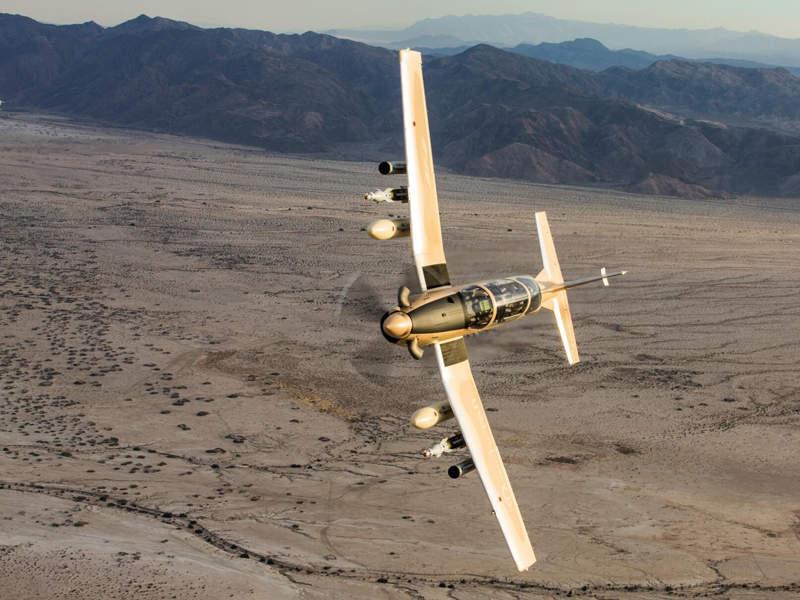 AT-6 Wolverine Light Attack Aircraft