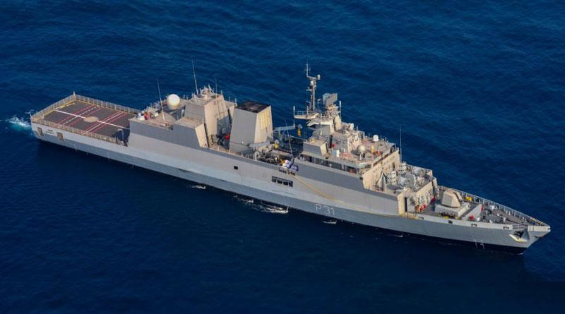 Indian Navy Kamorta-class Anti-submarine Warfare Corvette
