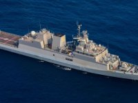 Indian Navy Kamorta-class Anti-submarine Warfare Corvette