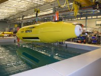 Hydroid's REMUS autonomous underwater vehicle.