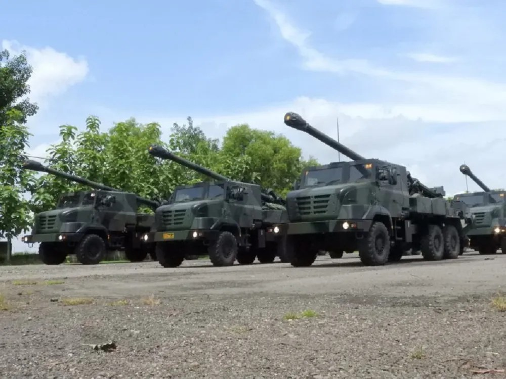 Indonesian Army CAESAR 155 Self-propelled Howitzer (SPH)