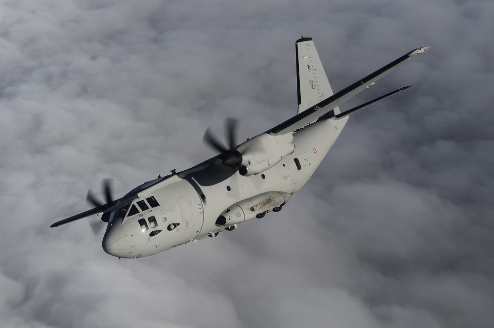 Leonardo C-27J Spartan Military Transport Aircraft