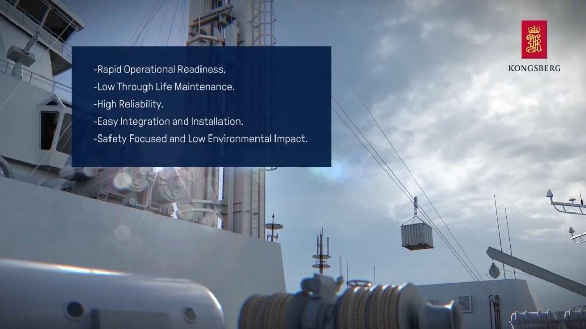 Kongsberg Gruppen Replenishment at SEA-RAS/FAS Systems