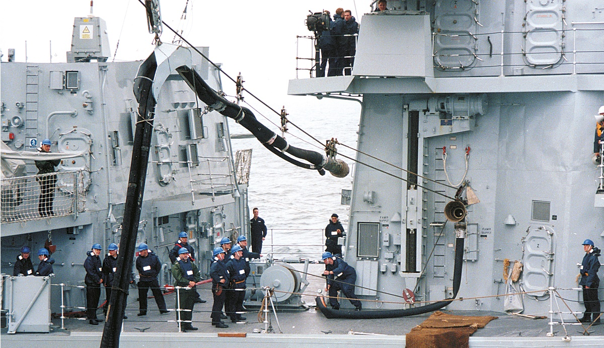 Military News • Standing NATO Maritime Group Performs Fueling at Sea (FAS)