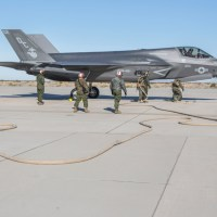 United States Marine Corps Claim Hot Refueling of F-35B in Five Minutes