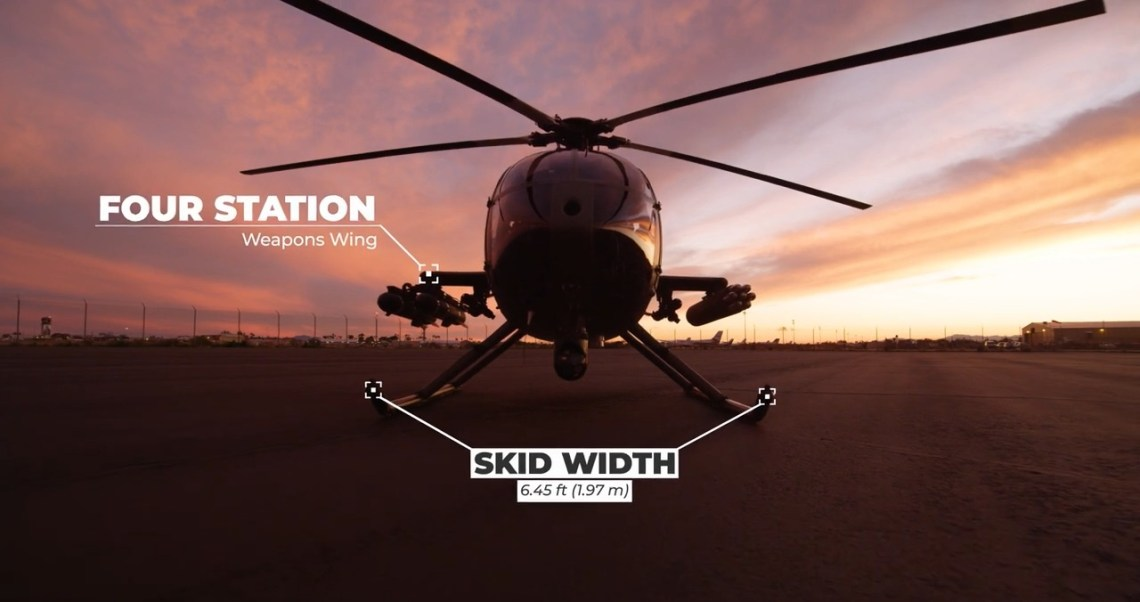 MD Helicopters MD 530G Block II (BII) Light Scout Attack Helicopter