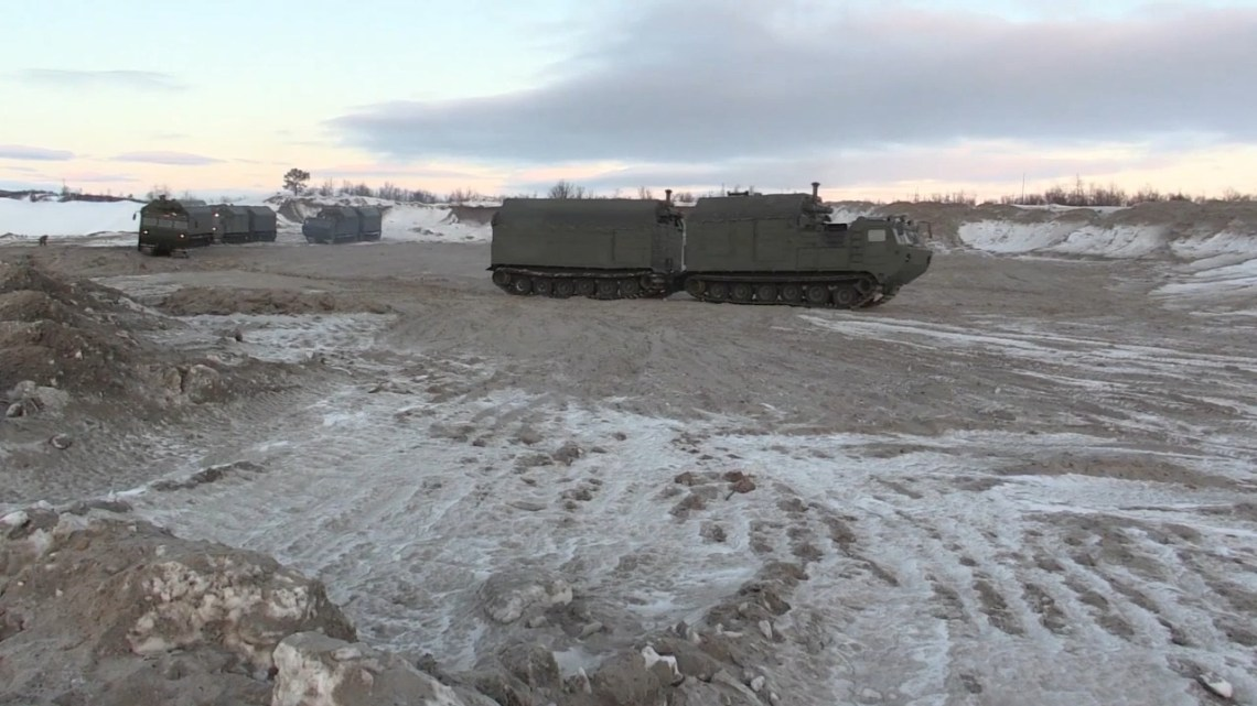 Vityaz DT-30 Articulated Tracked Carrier - Mobile Military Field Kitchens