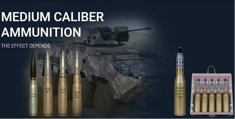 Medium (30x165mm) Caliber Ammunition Family