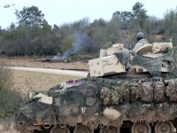 Multiple countries participate in the final battle during training exercise Combined Resolve XIII at the Joint Multinational Readiness Center in Hohenfels, Germany, Feb. 2, 2020.