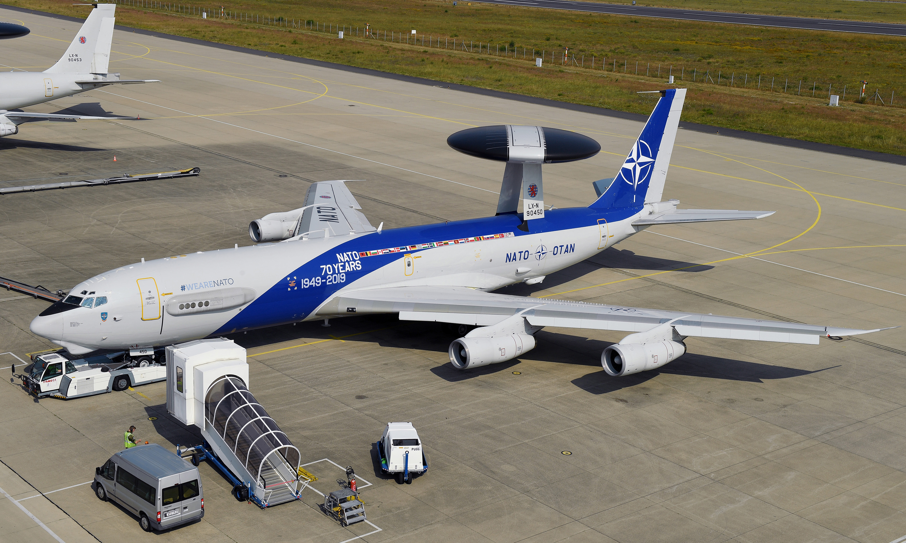NATO Airborne Warning & Control System (AWACS)