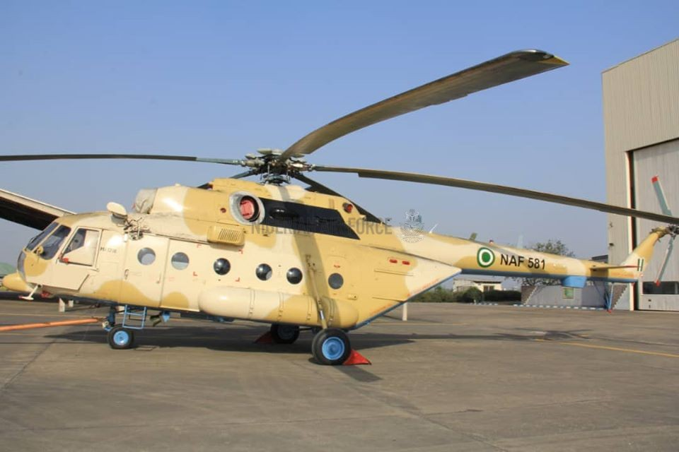 Nigerian Air Force Mi-171E Helicopter