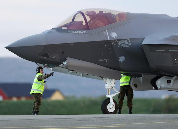 Royal Norwegian Air Force (RNoAF) F-35A Lightning II
