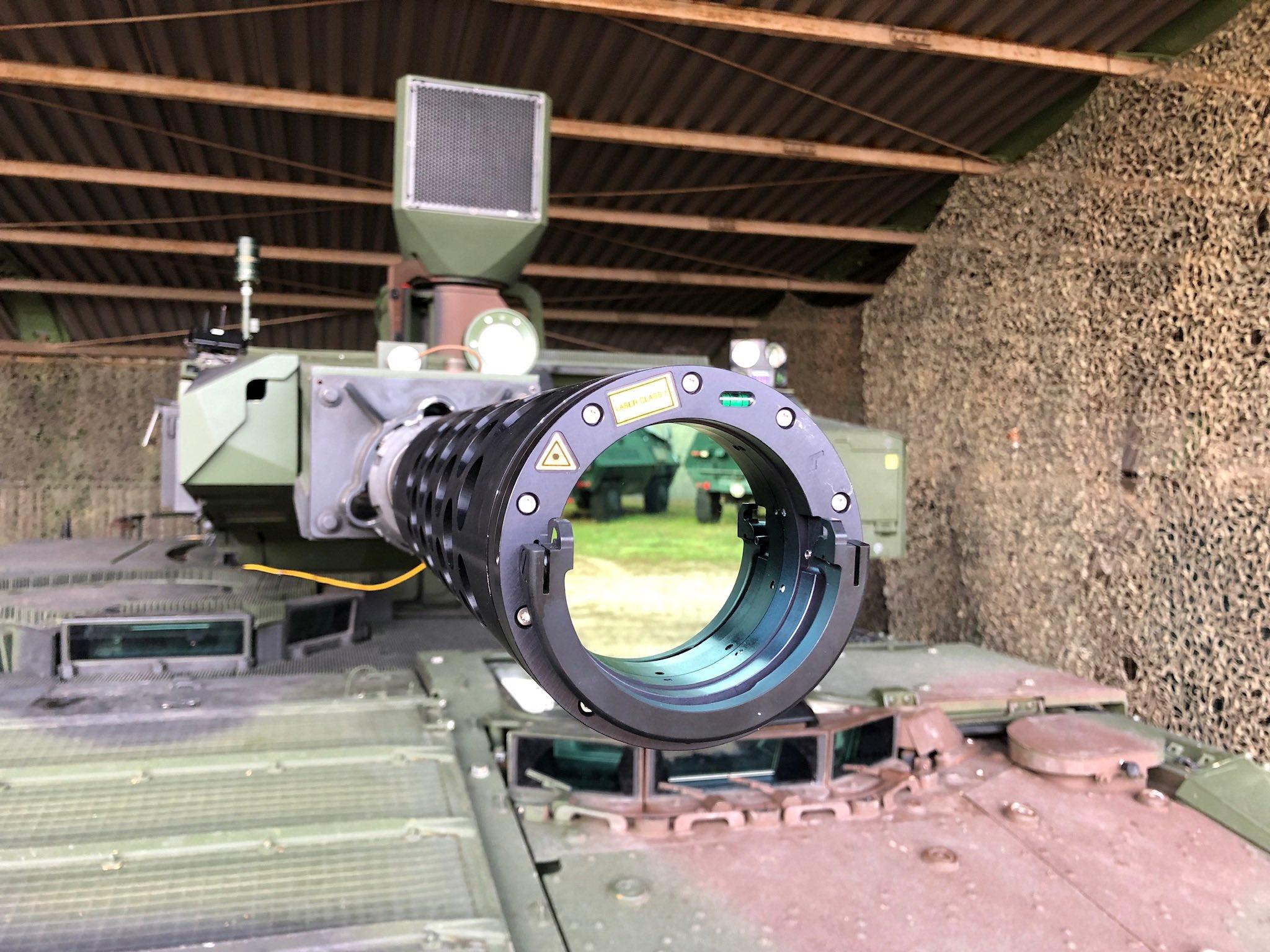 Rheinmetall to Supply Laser Duel Simulators for the Puma Infantry Fighting Vehicle