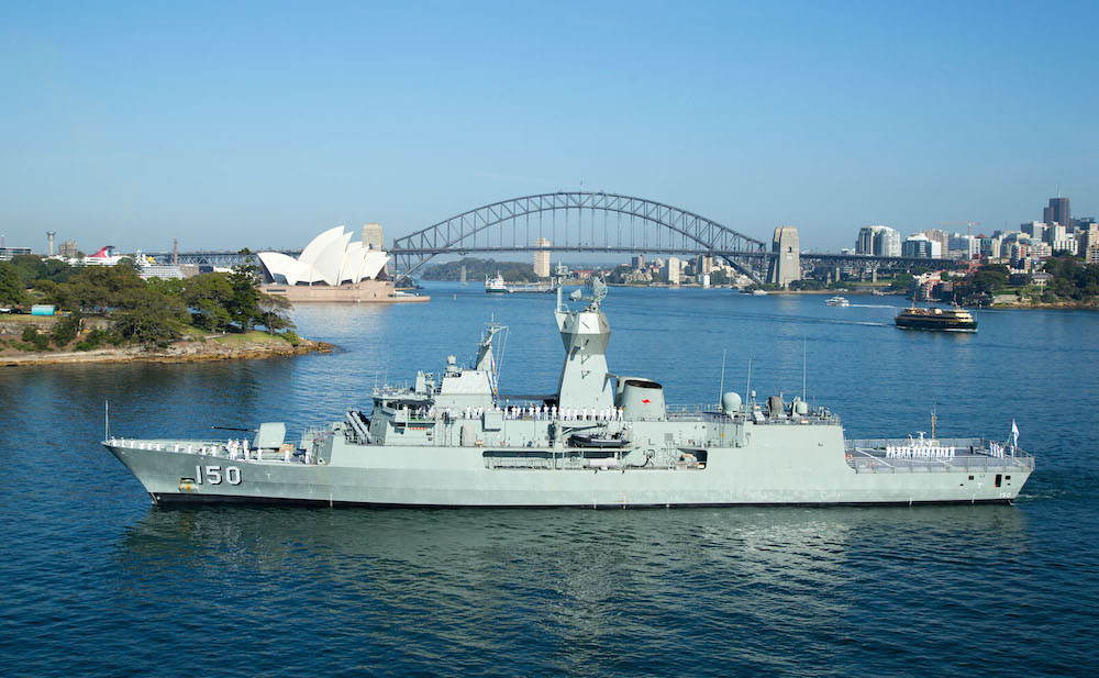 Royal Australian Navy (RAN) Anzac Class Frigate