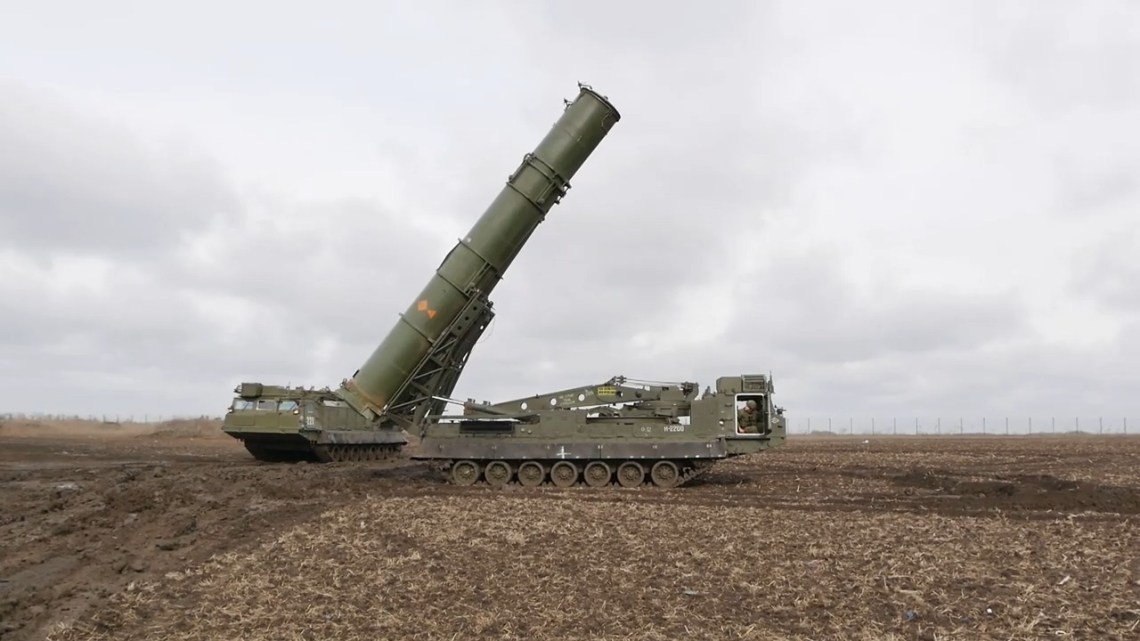 Russian Eastern Military Almaz-Antey S-300V4 Air Defense System