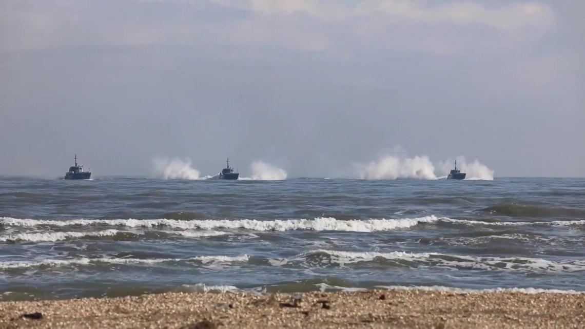 Russian Navy Caspian Flotilla marine infantry