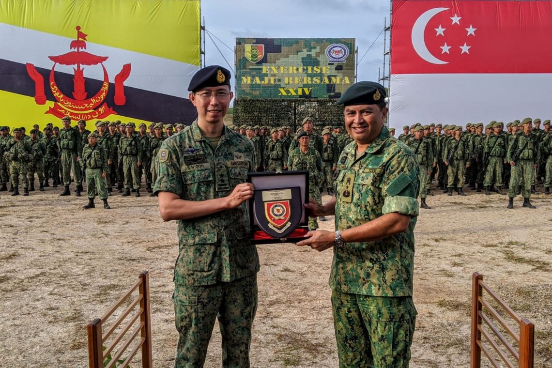 Singapore and Brunei Successfully Conclude 24th Edition of Exercise Maju Bersama