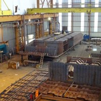 Construction Underway For the First Two Standard Amphibious Landing Craft (EDA-S)