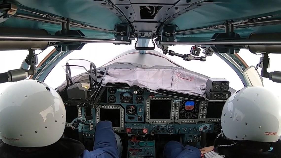 Sukhoi Su-34 Fullback Russian all-weather supersonic medium-range fighter-bomber/strike aircraft