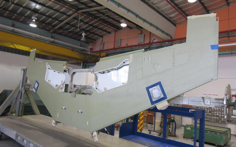 Israel Aerospace Industries LAHAV Aero-Structures T38 Wings