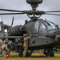 U.S. Army Aviation Brigade Practices Fat Cow Fueling Operation