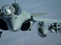 United States Air Force 908th EARS KC-10 Extender Fuels French Air Force Dassault Rafale