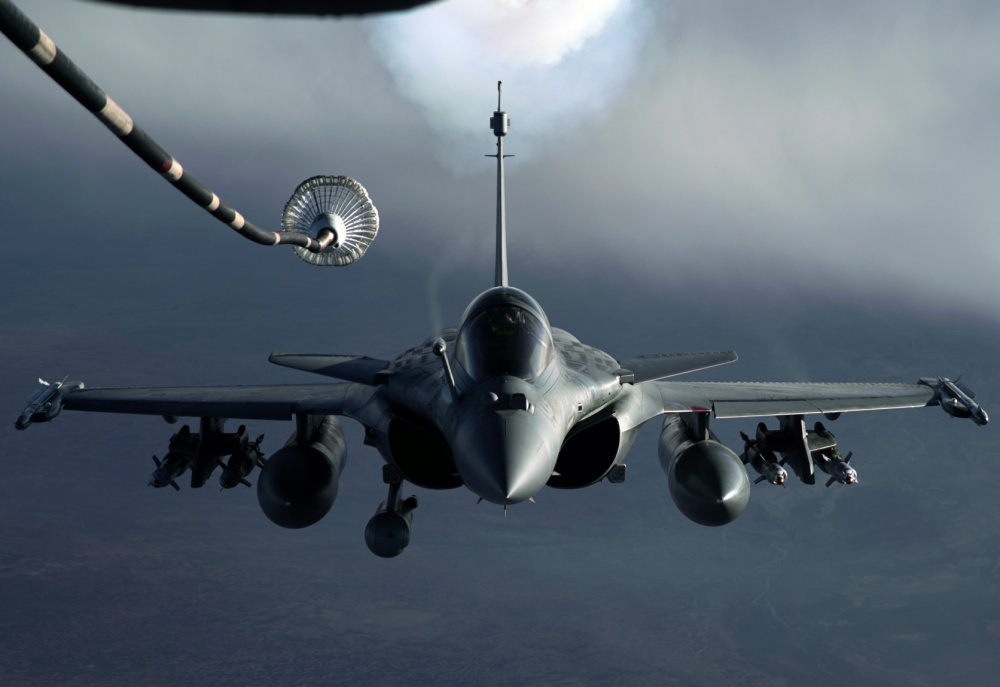 United States Air Force 908th EARS KC-10 Extender Fuels French Air Force  Dassault Rafale - MilitaryLeak