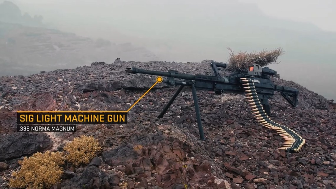 SIG SAUER MG 338 Machine Guns