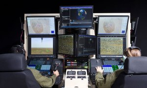 GA-ASI Installs New Predator Mission Trainer at Flight Test and Training Center (FTTC)