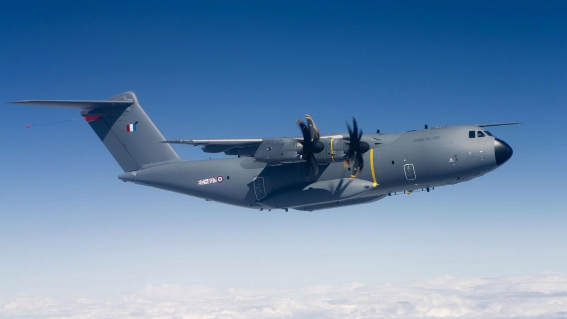 French Air Force (Armée de l'Air Française) s A400M Atlas (MSN007 ) military transport aircraft