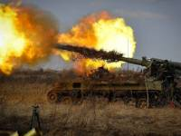 The Russian Army has demonstrated the use of 2S5 Giatsint-S long-range artillery systems firing on precision targets identified and designated by drones, providing an added capability against high-value targets.