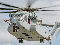 Sikorsky CH-53K King Stallion heavy-lift cargo helicopter