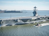 U.S. Navy aircraft carrier USS Gerald R. Ford (CVN-78)