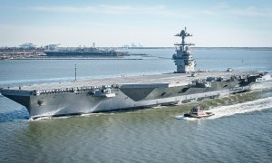 U.S. Navy aircraft carrier USS Gerald R. Ford (CVN-78)