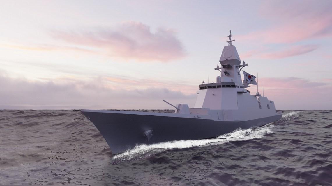 HHI Wins 325 Million Order for Republic of Korea Navy Ulsan-Class Batch III Frigate