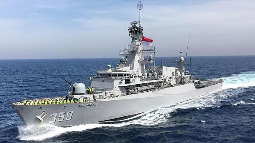 Indonesian Navy KRI Usman-Harun light frigate