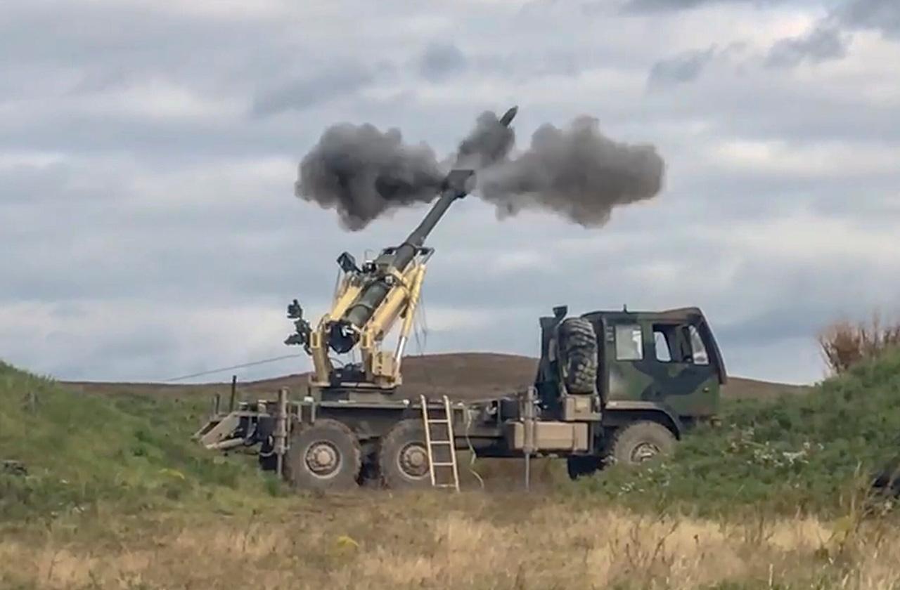 Brutus 155mm Mobile Artillery System