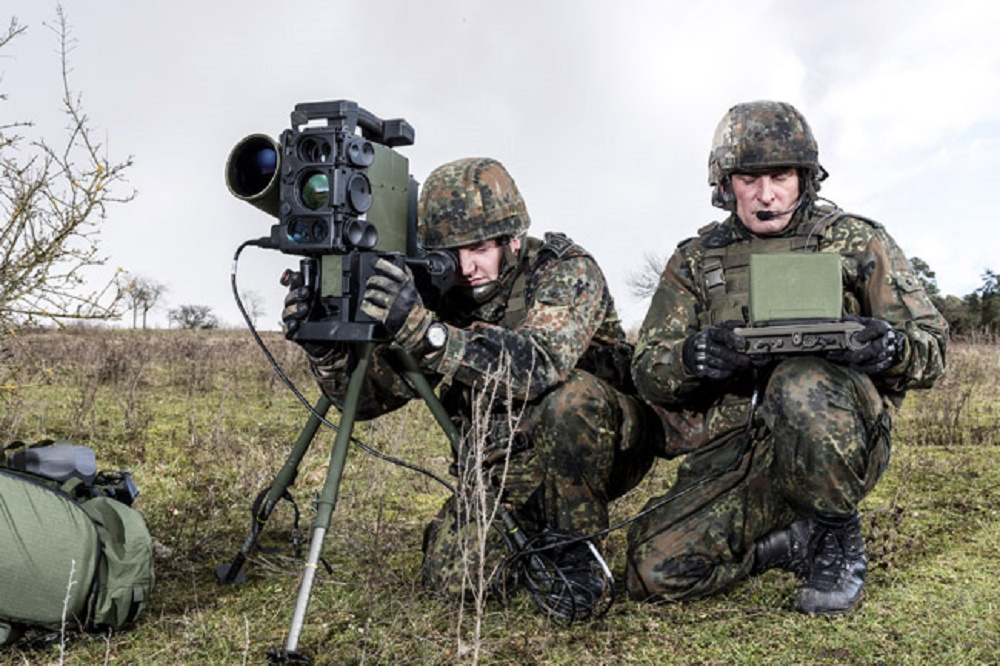 Eurospike's SPIKE LR2 Anti-Tank Guided Missiles